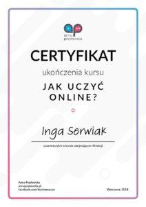 szkolenie Jak uczyć online